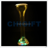 LED Disco Light Flashing Cup with Lid and Straw