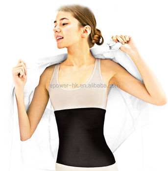 NEW Waist Trainer Weight Loss Ab Belt - Workout Corset and Stomach Slimming Wrap