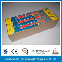 Roll Type 24 Rolls Per Case For Food Packaging Baking Cooking Aluminum Foil Roll