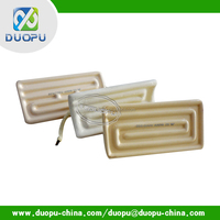 Preheating & vulcanizing of rubber Sheets IR ceramic heating element