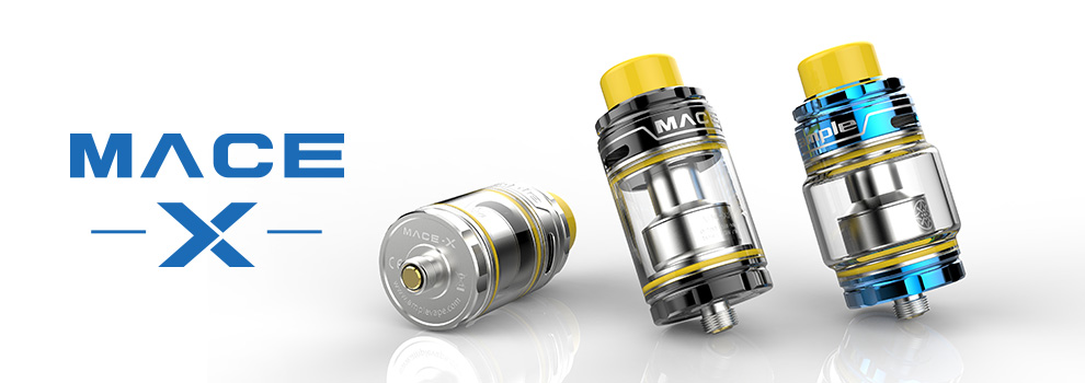 Ample Vape Lastest New Atomizer Mace-X Subohm Tank with ADC Coil