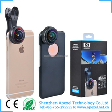 fisheye lens for phone without dark circle mobile phone detachable camera HD 238 filming fisheye lens