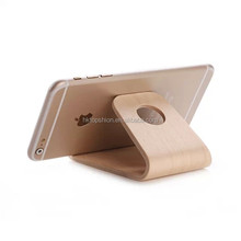 Universal wood phone holder, mobile phone stand holder for iphone/samsung