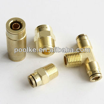 DOT push in fittings