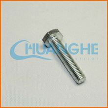 China supplier hex bolts din 931 933 960 and 961