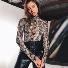 K3121A Latest Fashion Printed Slim Playsuits Long Sleeve Bodysuits Woman 2017