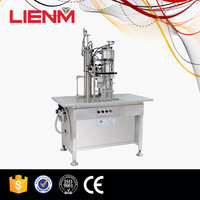 LIENM Factory Spray Can Filling And Sealing Machine