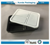 Microwavable Disposable Clear Plastic Food Packaging Container