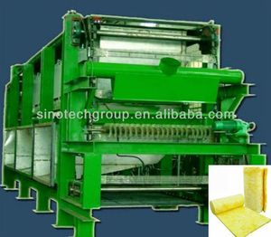 Glass Fiber Wool Felt Making Machine