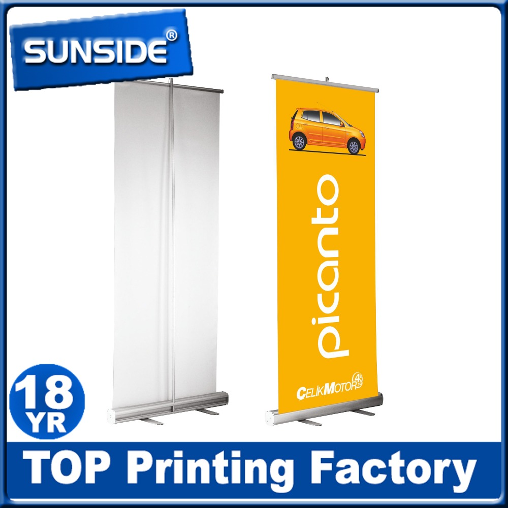 effective roll up banner, Roll Up Banner stand for advertising, roll up display in full color D-0825