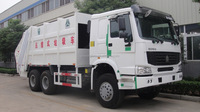 HOWO GARBAGE COMPACTOR REFUSE TRUCK