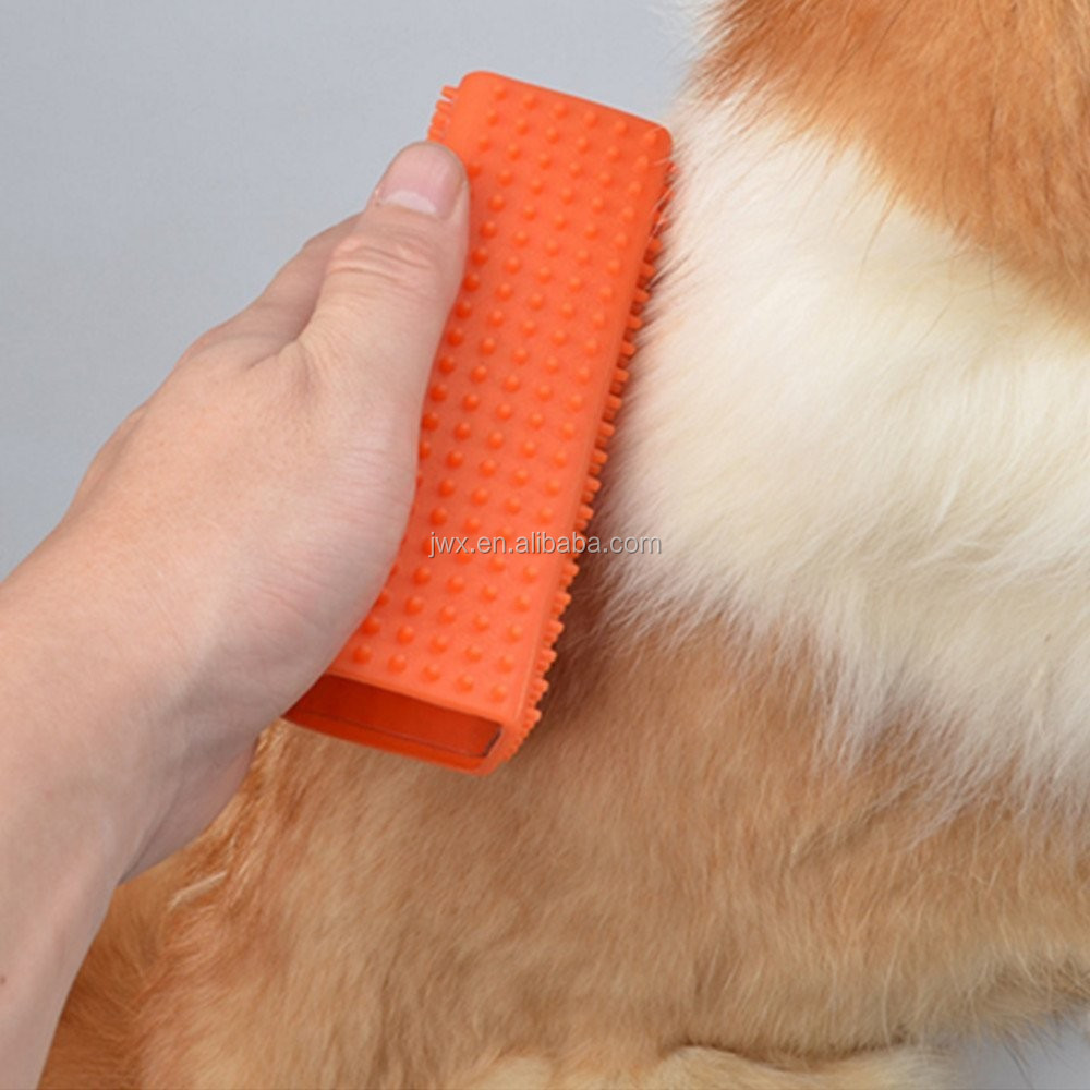 silicone pet brush Pet Dog Cat Hair Remover Cars Furniture Carpet Clothes Sofa Cleaner Brush