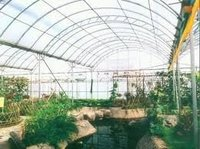 Green Houses with UV Resist Polycarbonate sheets