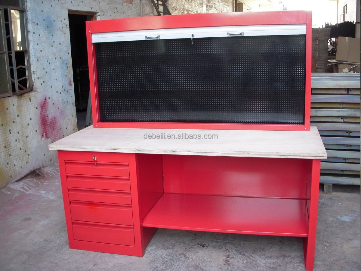 Uso De Metal Bancada garagem ou oficina mecânica Bancadas de  #A82334 1200x900