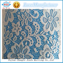 Fall-Plate Big Flower Nylon Spandex Lace Fabric for Dress Outwear