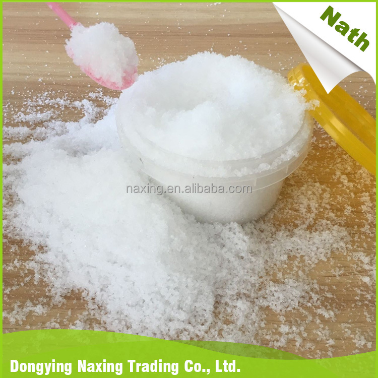 Hot selling items professional instant artificial snow with no harm to environment