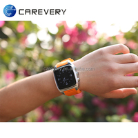 3G android cell phone watch capacitive touch screen, dual core wifi smart watch mobile phone 5mp camera