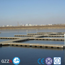 Plastic foam filled dock float floating dock