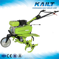 Manual rice field tilling machine hand push garden tiller and cultivator