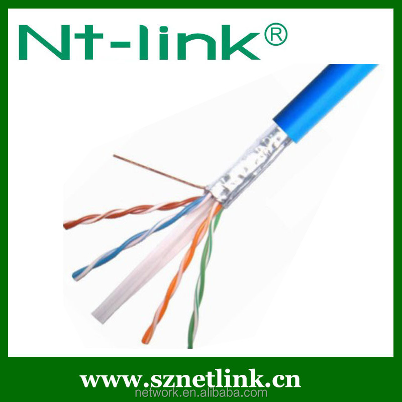 Good Performance Shield Cat6 S/FTP Delta Lan cable NT-C006