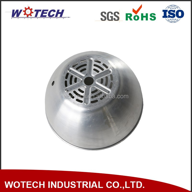Customized mechanical metal spinning part