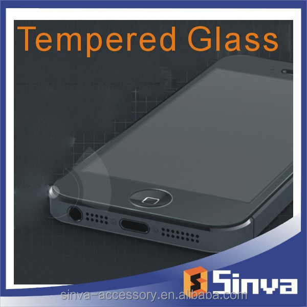 High Quality Mobile Phone accessories factory 0.15mm 2.5D 9H tempered glass screen protector