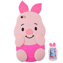 Cellphone Accessories China Mobile Phone Case Piglet Fancy Custom Silicone Cover Mold Make Cell Phone Case For Iphone 6 Plus
