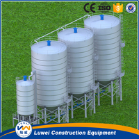 Steel grain silo in agriculture farming for sale