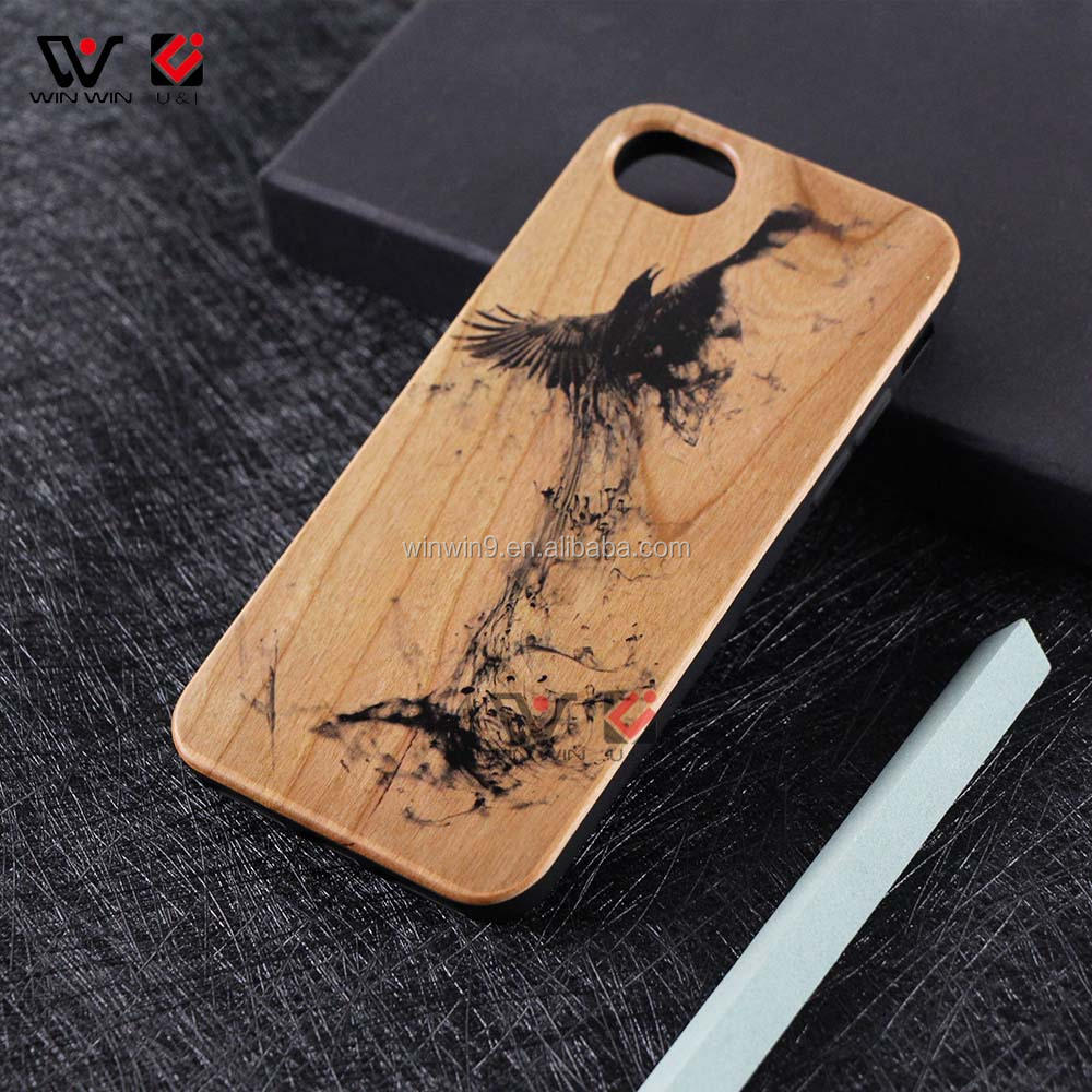 Luxury Wood Mobile Phone <strong>Cover</strong> For IPhone 6 Blank Phone Case