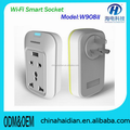 W908II wifi/gsm controlled power electrical socket