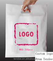free samplet shirt shape carrier custom dust plastic bag for wholesale price