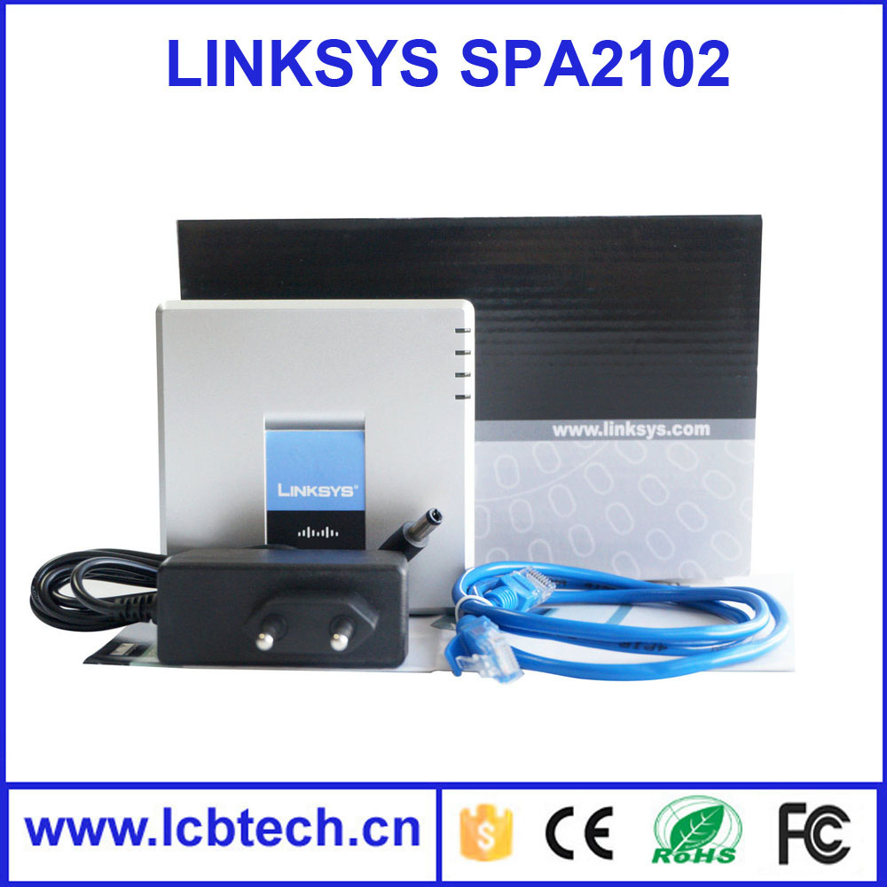 Voip ATA adapter Linksys Pap2t Unlocked with High quality