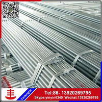 schedule 20 galvanized steel pipe/ ss400 galvanized pipe/ galvanized round steel pipe