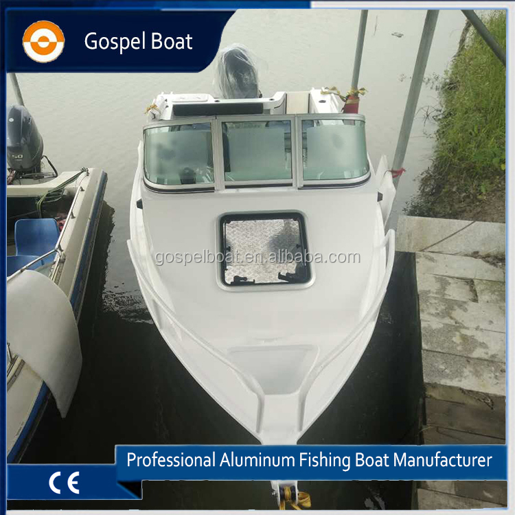17feet Cuddy Cabin Small Fishing Boat for Family