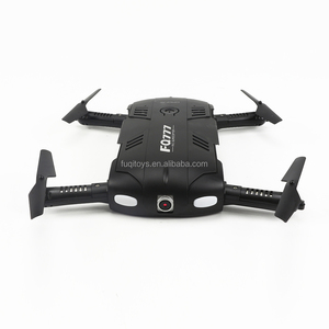 FQ05 2.4G drone mini with hd camera selfie drone with foldable 3D arm WIFI FPV elfie pocket drone