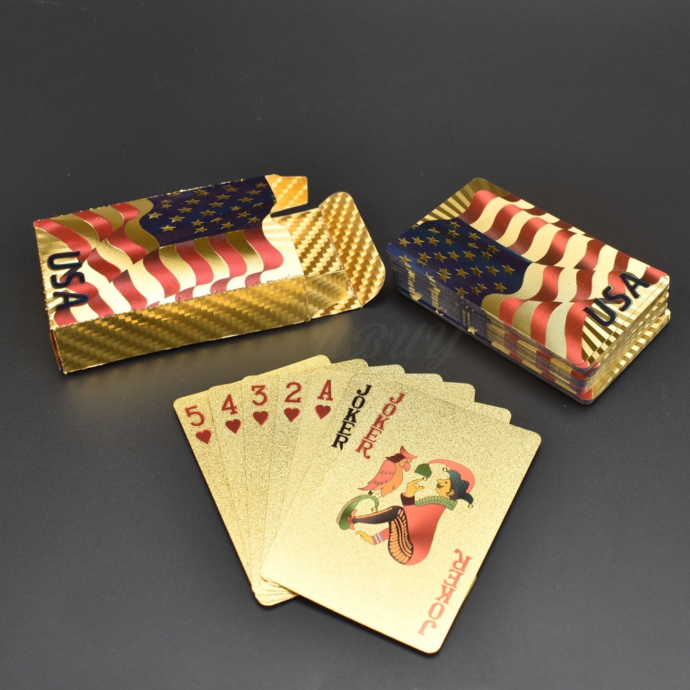 OEM Factory China Custom Gold Playing Cards Poker