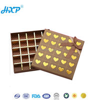 Printed Gift Chocolate Packaging Cardboard Box Inserts