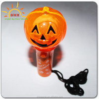 2016 cool hot sale Pumpkin shaped led lights sticks for Halloween