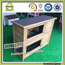 SDR20 Hot Selling Pet Product Wood Rabbit House Designs