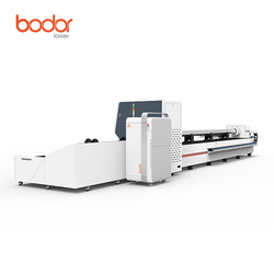 6m stainless steel/iron/ carbon steel tube cutting cnc fiber laser metal pipe cuter machine manufacturer from China Bodor