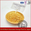 16-40 Mesh Granulate Orange Peel for Japan