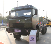 Hot sale FAW military 6x6 heavy duty lorry truck cargo truck 10-wheel truck