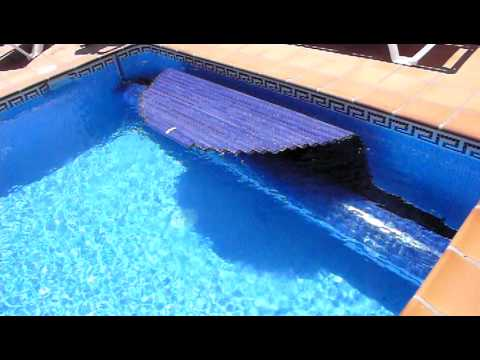 New invention swimming pool cover roller with 12V motor