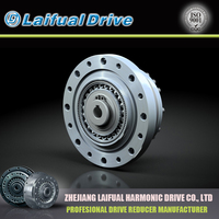 Harmonic gearboxes for industrial robot arms