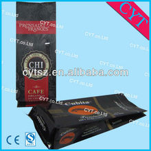 custom design foil coffee bags with valve