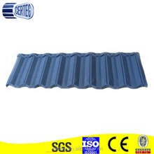 Blue Color Stone Coated Metal Roof Tiles