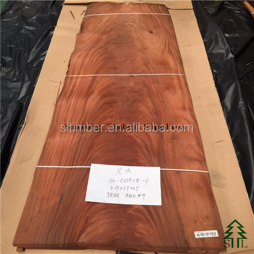 Burning fire shaped Mahogany Crotch for large-scale luxurious hotels use!