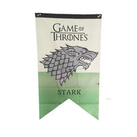 Stock custom Game of Thrones House Banner Flag decorate flag