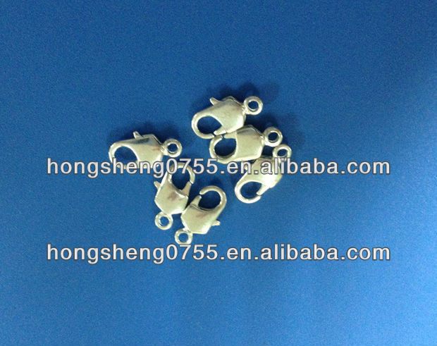 factory supply metal double lobster clasp for jewelry