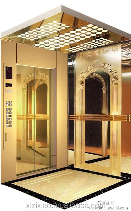Residential Elevators small home lift VVVF control system CE